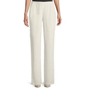 NWT Anne Klein Off White Pants Size 14